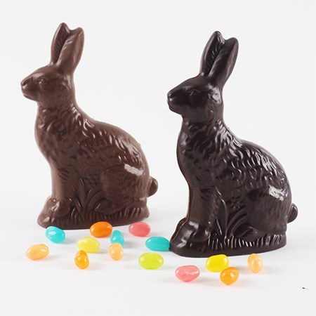 Gourmet Chocolate Easter Bunnies in Milwaukee's Third Ward