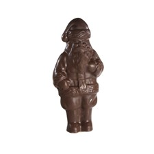 Single Milk Chocolate Santa