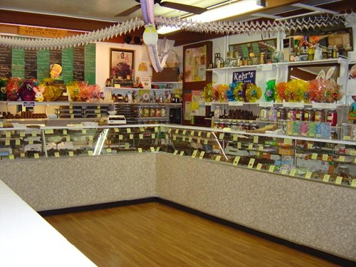 Kehr's Candies gourmet chocolate shop in Milwaukee 1